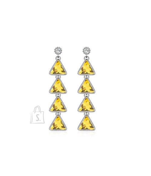 OiOi Kollaste tsirkoonidega luksuslikud kõrvarõngad