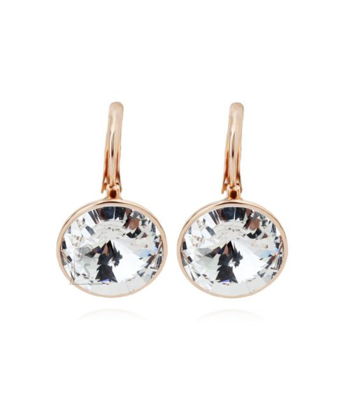 OiOi Võimsad säravad kristalliga kuldsed kõrvarõngad