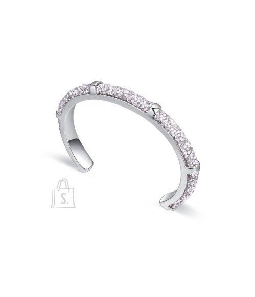 OiOi Hõbedaste kristallidega käevõru