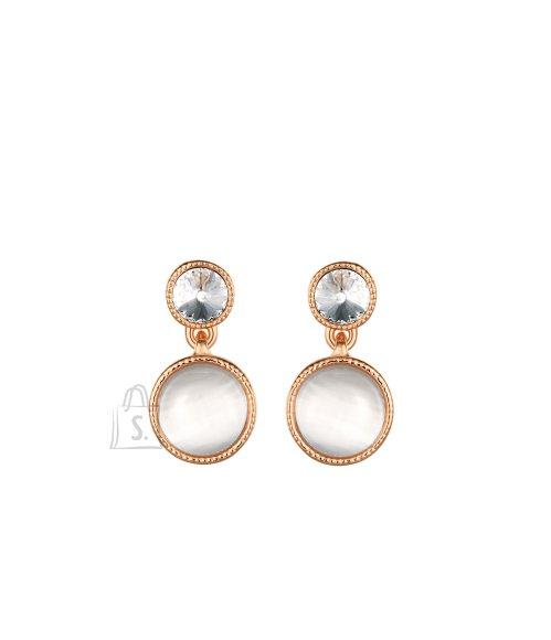 OiOi Rippuva opaaliga kuldsed kõrvarõngad
