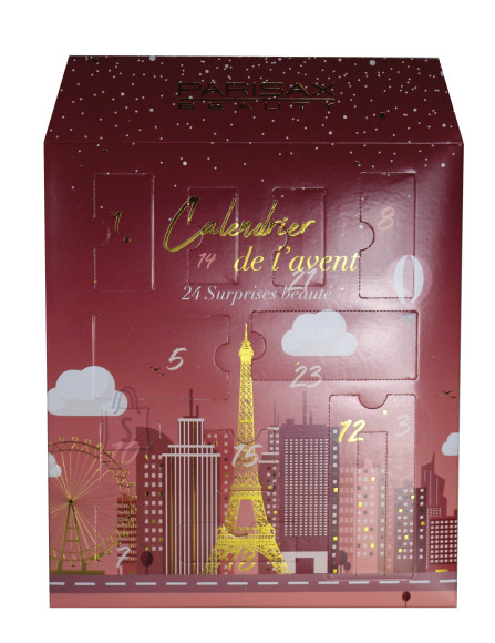 Parisax Advendikalender ilus linn Pariis