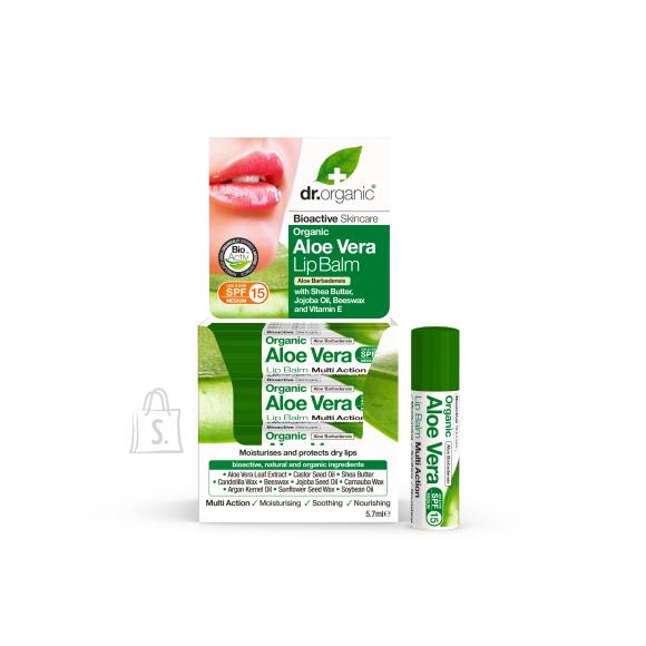 Dr.Organic Aloe Vera huulepalsam 5,7 ml