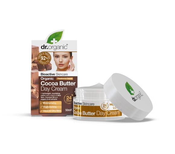 Dr.Organic Kakao päevakreem 50ml