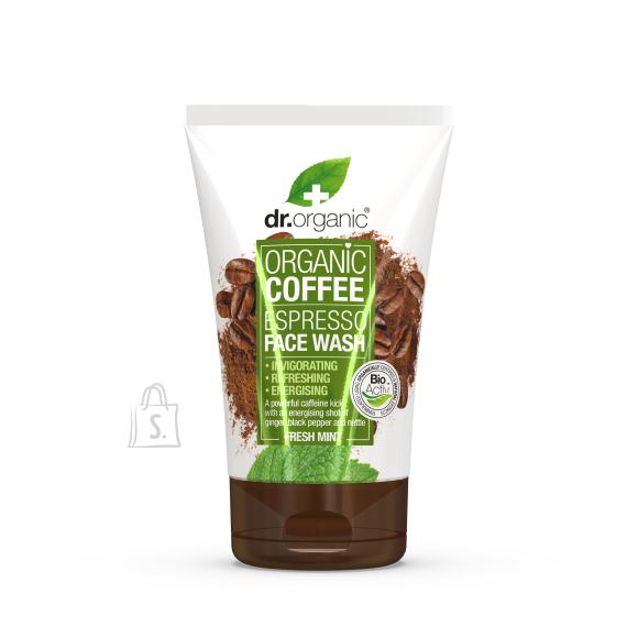 Dr.Organic Kohvi näopesugeel 125ml