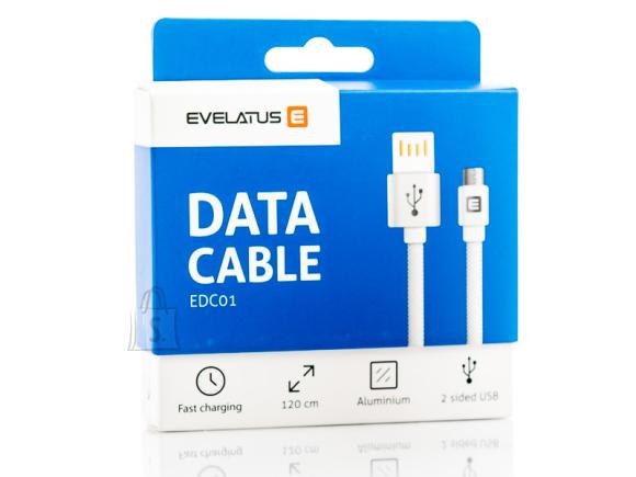 Evelatus EDC01 MicroUSB data cable black