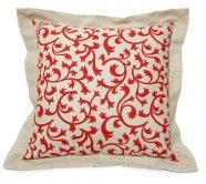 Dekoratiivpadi Red and White 40x40 cm
