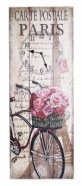 Seinakell Linen jalgratas roosidega