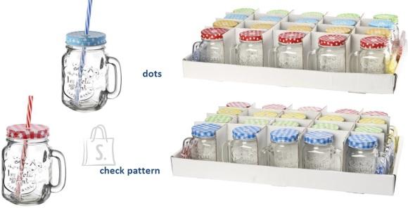 Joogipurgid kõrre ja sangaga, komplekt 20 tk x 425 ml