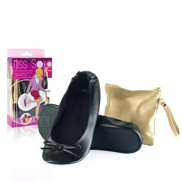 Naiste balleriinad kotiga