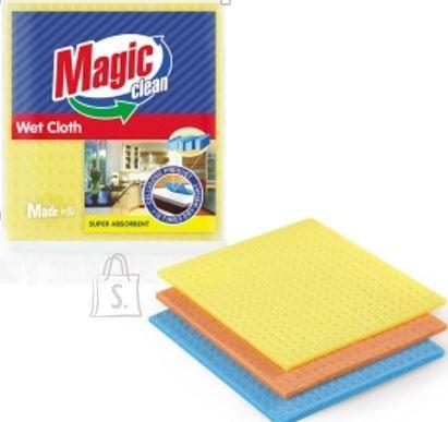 MAGIC CLEAN niisutatud svammlapid 3tk