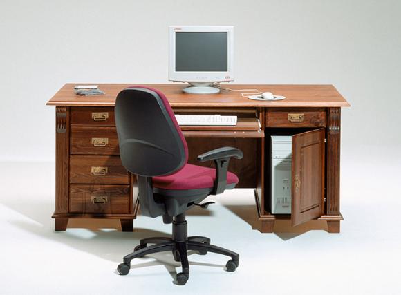 Wermo arvuti ja kirjutuslaud Monaco pruun