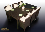 Bello Giardino aiamööbel Gustoso. Laud + 6 tooli