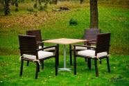 Bello Giardino aiamööbel Carino. Laud + 4 tooli