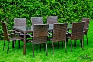 Bello Giardino aiamööbel Sottile. Laud + 8 tooli