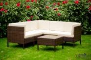 Bello Giardino aiamööbel Fenomale. Diivan + laud