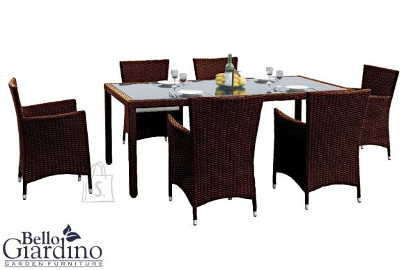 Bello Giardino aiamööbel Capitale. Laud + 6 tooli