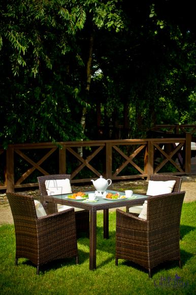 Bello Giardino aiamööbel Pazzo. Laud + 4 tooli