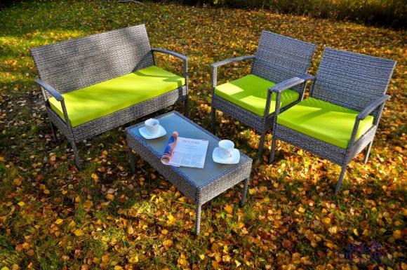 Bello Giardino aiamööbel Perfetto. Laud + diivan + 2 tooli