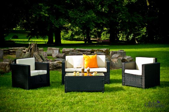 Bello Giardino aiamööbel Ventura. Laud + diivan + 2 tooli