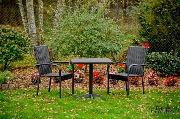 Bello Giardino aiamööbel Duo. Laud + 2 tooli