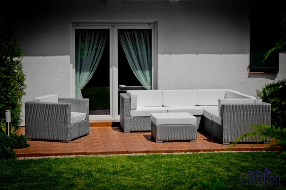Bello Giardino aiamööbel Altro. Diivan + tugitool + tumba