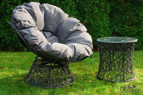 Bello Giardino aiamööbel Twist laud + tool
