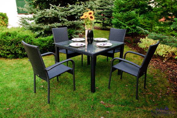 Bello Giardino aiamööbel Eccellente. Laud + 4 tooli