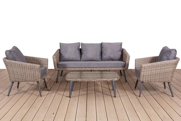 Bello Giardino aiamööbel Antico laud + diivan + 2 tooli