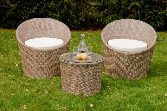 Bello Giardino aiamööbel Modico. Laud + 2 tooli