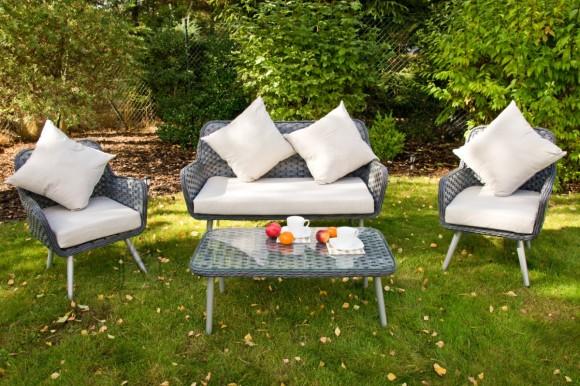 Bello Giardino aiamööbel Modesto laud + diivan + 2 tooli