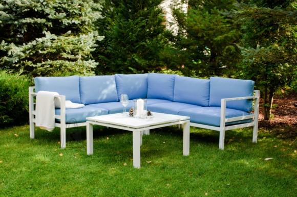 Bello Giardino aiamööbel  Alluminio diivan + laud