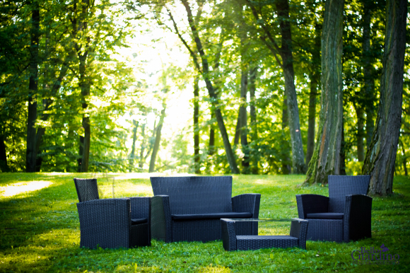 Bello Giardino aiamööbel Unico. Laud + diivan + 2 tooli