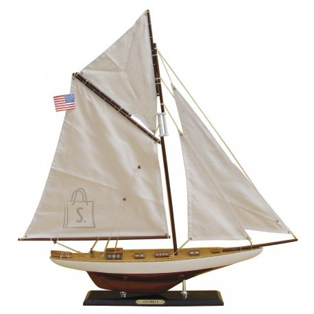 Laeva mudel-Purjejaht, L: 59cm