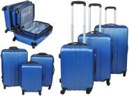 Reisikohvrite komplekt 3in1 sinine