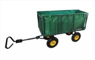 4-rattaline järelveetav aiakäru, kandevõime 544kg