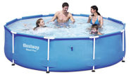 Bestway bassein terasraamiga ilma filterpumbata Ø305 cm