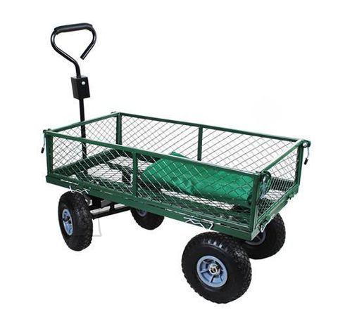 4-rattaline järelveetav aiakäru, kandevõime 350kg
