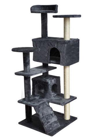 Kassi kraapimispost 120 cm hall