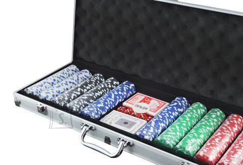 Pokkerikomplekt 500 žetooniga