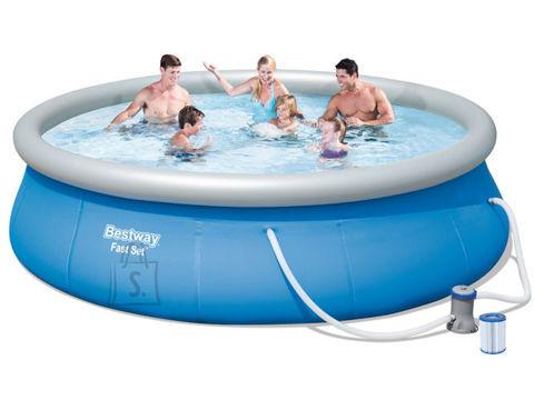 Bestway bassein koos filterpumbaga Ø396 cm