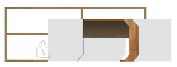 TV-alus Loft koos riiuliga