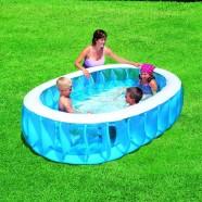 ovaalne laste bassein, 234 x 152 x 51 cm