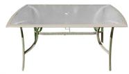 Aialaud klaaspinnaga, aluminiumraamiga 90x150