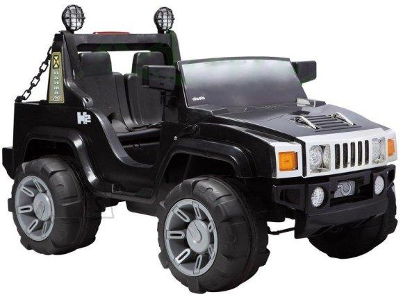 kahekohaline elektriauto Hummer must + kaugjuhtimise pult