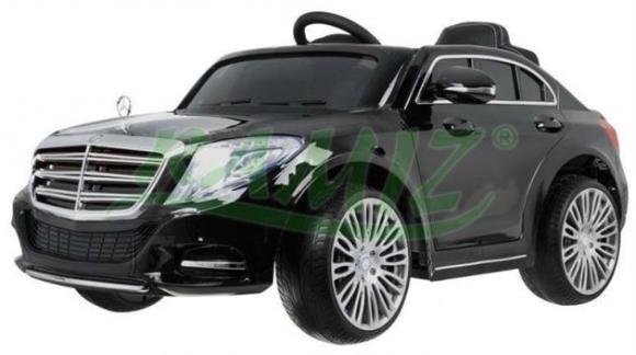 Lakitud elektriauto Mercedes S600 lastele