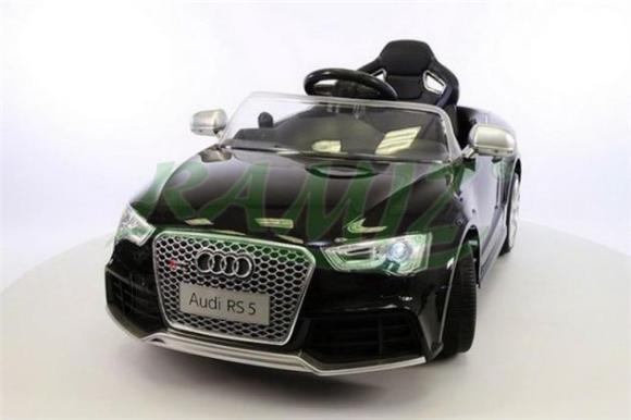 Lakitud elektriauto Audi RS 5 lastele