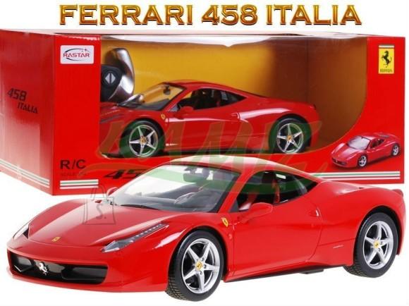 Raadioteel juhitav mudelauto Ferrari 458 Italia 1:14