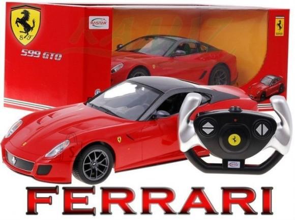 Raadioteel juhitav mudelauto Ferrari 599 GTO 1:14