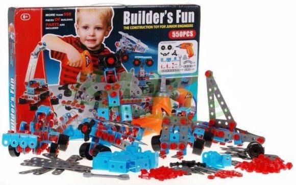 Konstruktor sõidukid 550 osa
