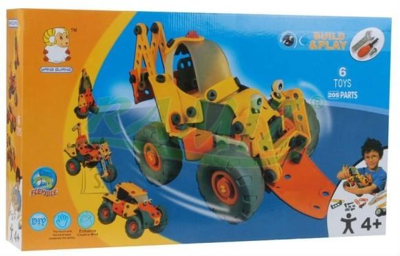 Konstruktor 6in1 sõidukid